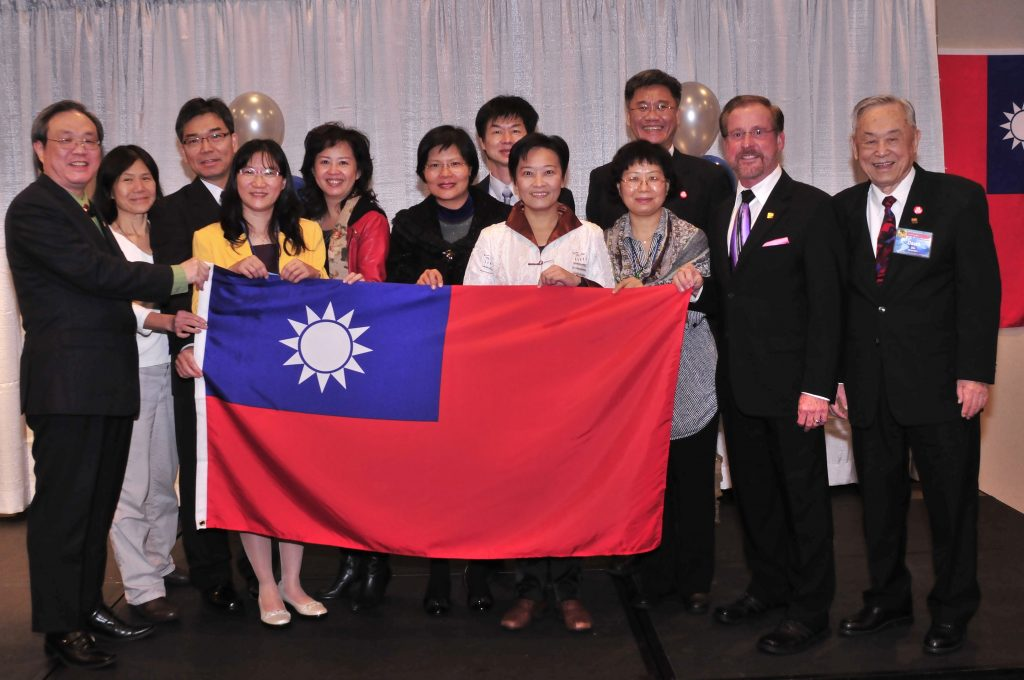 "1. Delegation from Taiwan representing the Taiwan International Iridology Medical Association at ""OUR"" 13th Annual Congress"